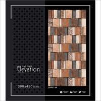 Decorative High- Depth Elevation Tile