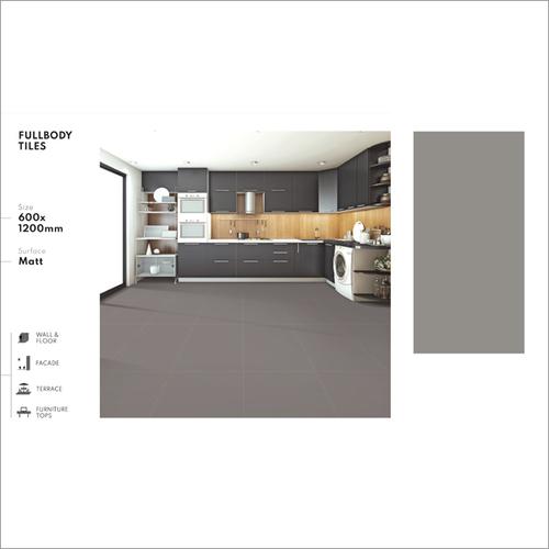 Grey Full Body Vitrified Tile