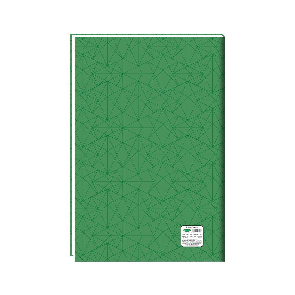 Sundaram C Ruled Register (1 Quire) - 72 Pages (FG-1)