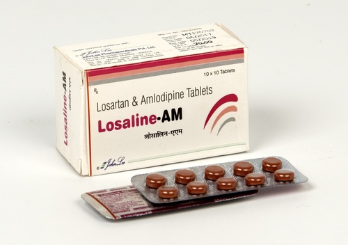 Losartan Potassium IP 50 MG  + Amlodipine IP 5 MG