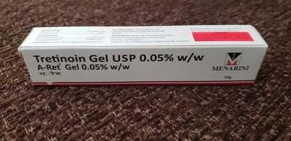 Tretinoin Gel Usp 0.05% W/w