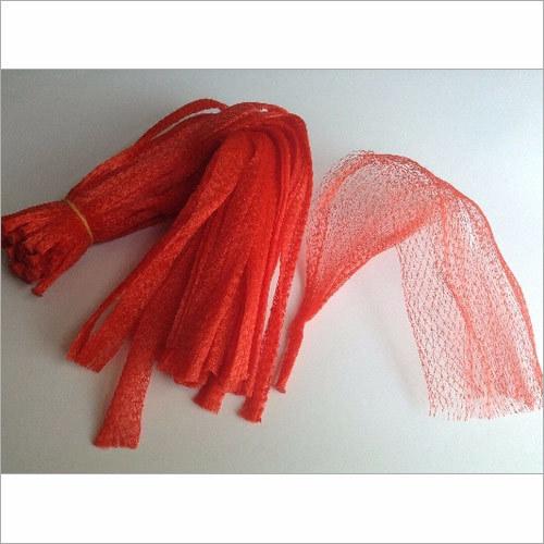 PVC Red Fruit Net Bag