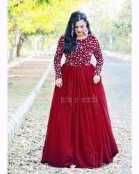 Embroidered Anarkali Gown Collection