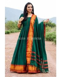 DESIGNER MONSOON SPECIAL HEAVY COTTON GOWN