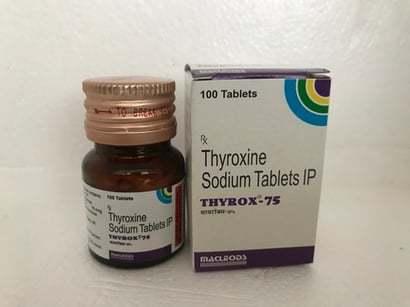 Thyroxine Sodium Tablets Ip 75 Mg
