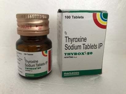 Thyroxine Sodium Tablets Ip 50 Mg