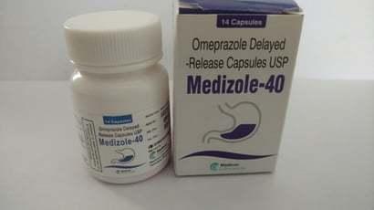 Omeprazole Delayed - Release Capsules Usp