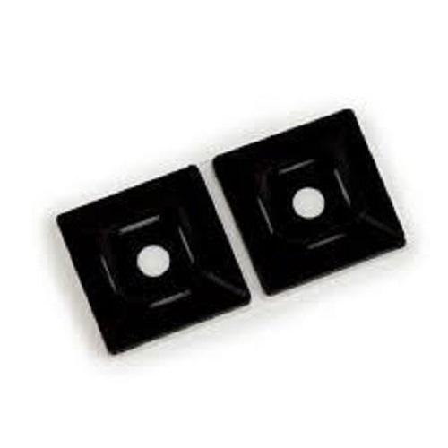 Black Colour Cable Tie Mount