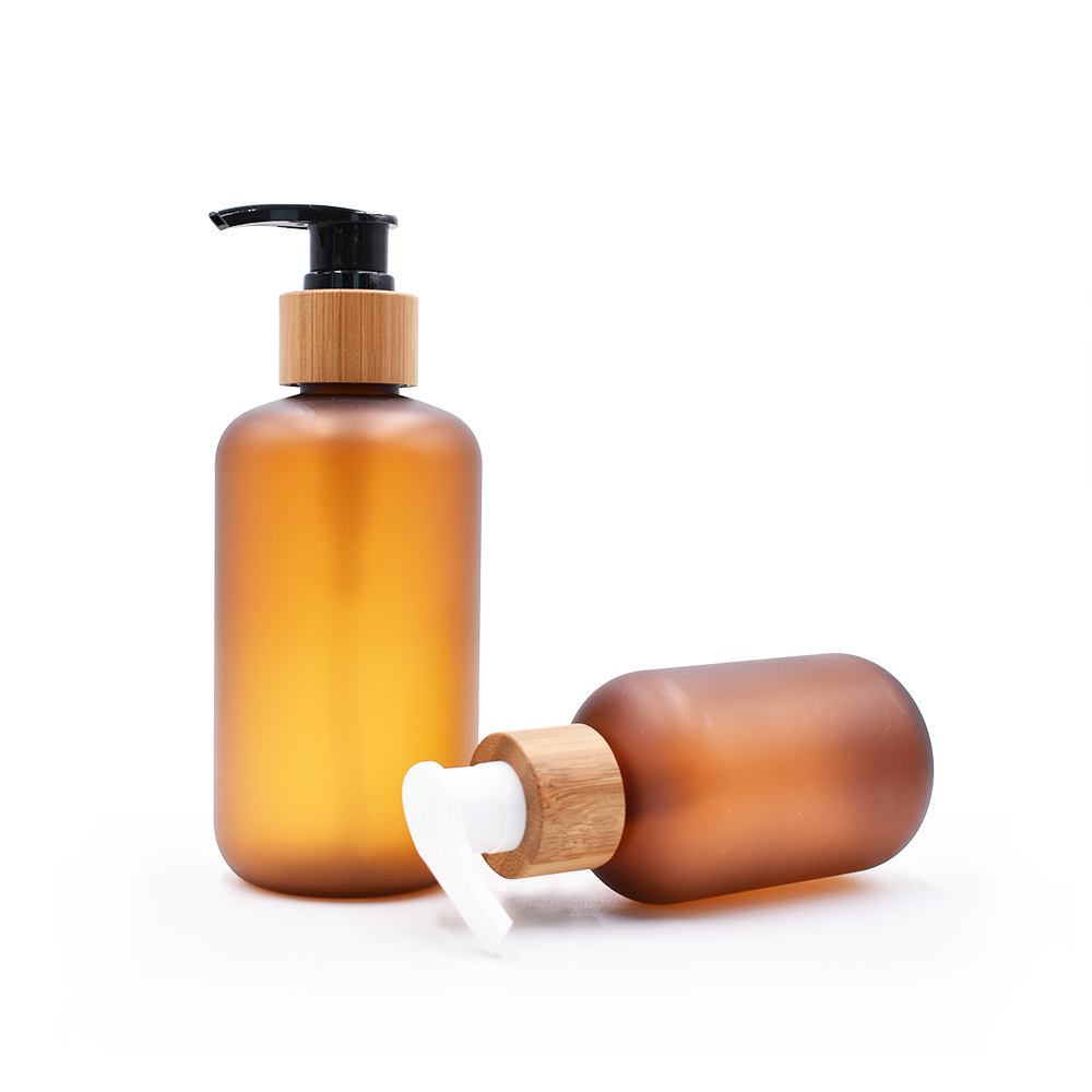 300 ML PET FROSTED SHAMPOO BOTTLES