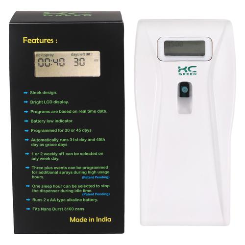Automatic Aerosol Air Freshener Dispenser NanoBurst