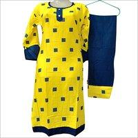 Ladies Cotton Kurti With Salwar Set