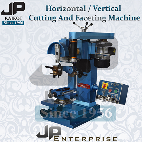 Jewelry Horizontal Cutting And Faceting Machine