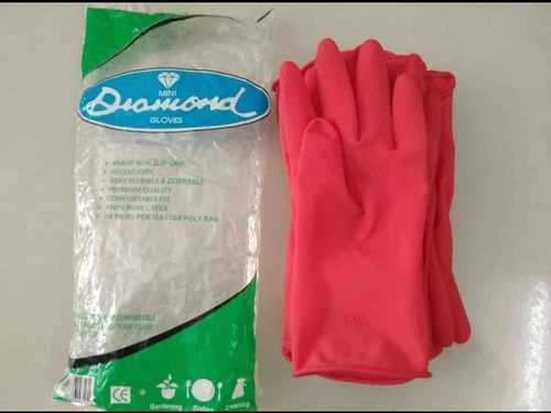Rubber Safety  Hand Gloves