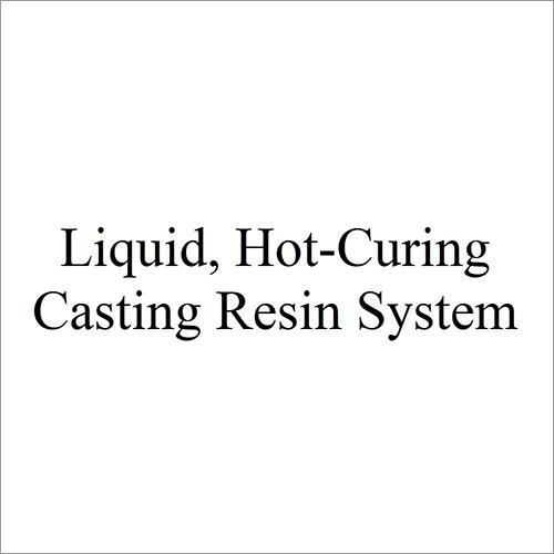 Liquid Hot-Curing Casting Resin