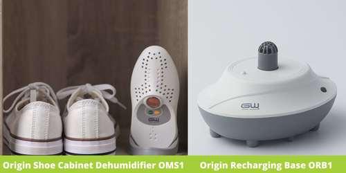 Shoe Cabinet Dehumidifier