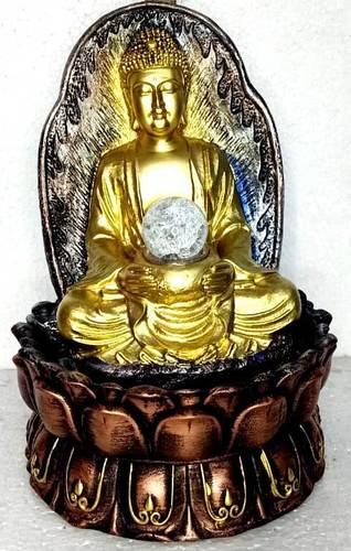 Buddha Fiber Indoor Water Fountain