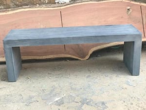 2 SEATER CEMENT BENCH