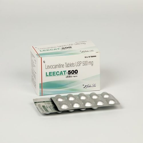 LEVOCARNITINE 500MG TABLET (LEECAT)