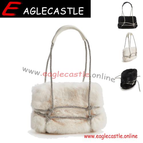 Fashion Fur Bag Hand Bag Ladies Fashion Faux Fur Messenger Bag shoulder bag