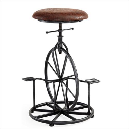 Metal Bicycle Bar Stool