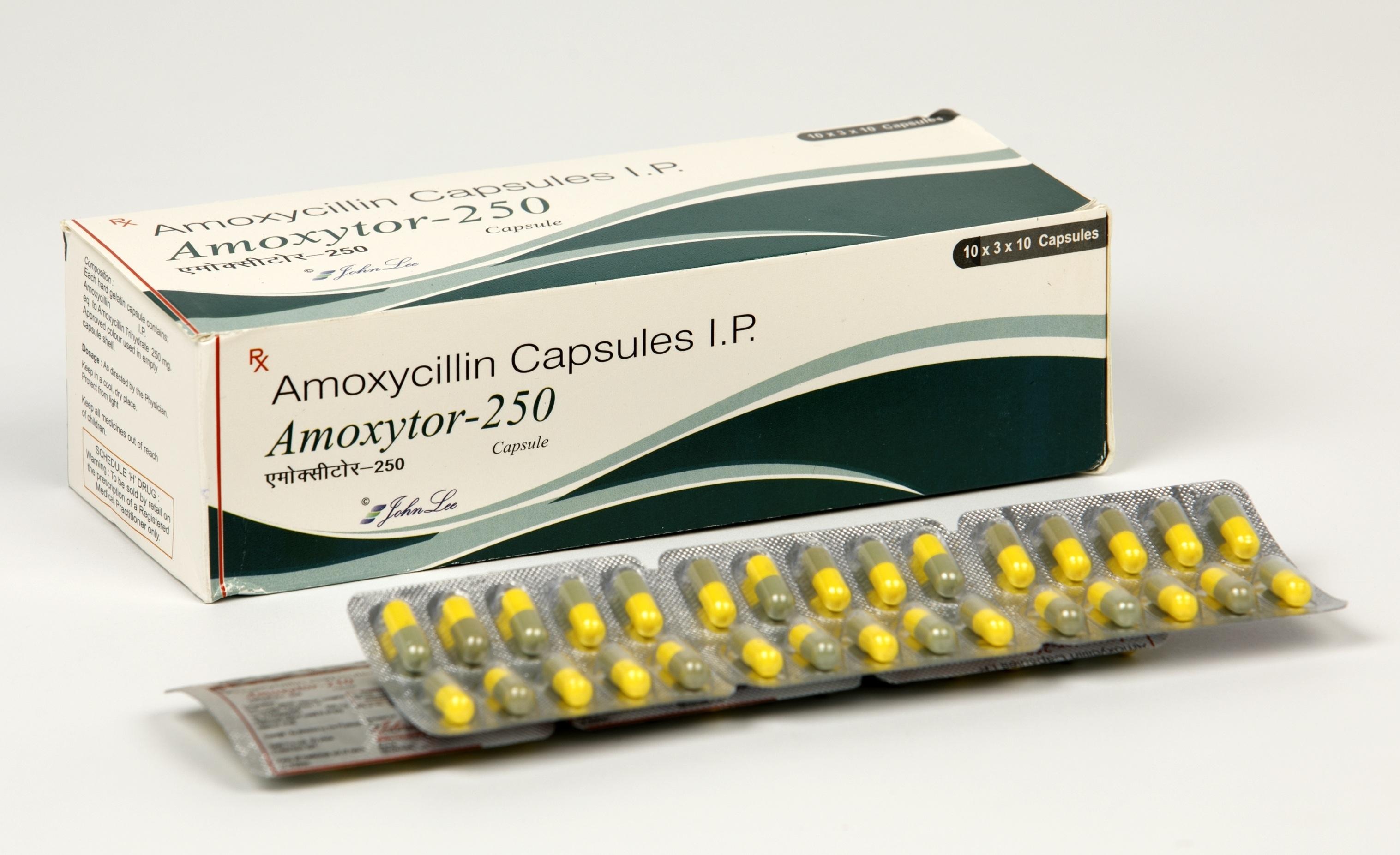 Amoxicillin Trihydrate 250 MG