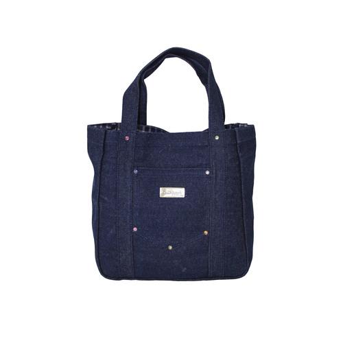 12 Oz Denim Designer Tote Bag With Inside Poly Viscose Lining