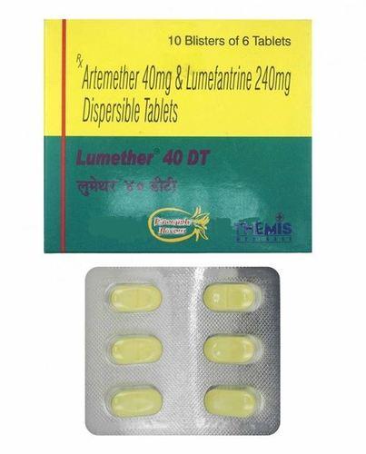 LUMETHER 40/240 TABLET (ARTEMETHER 40MG + LUMEFANTRINE 240MG)