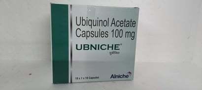 UBIQUINOL ACETATE CAPSULES 100MG