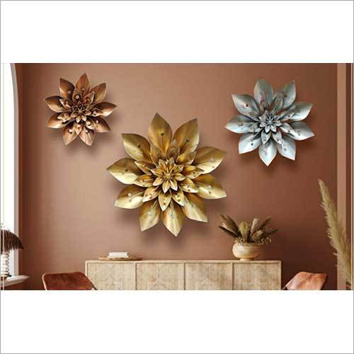 Handcrafted Metal Wall Art Set of 3
