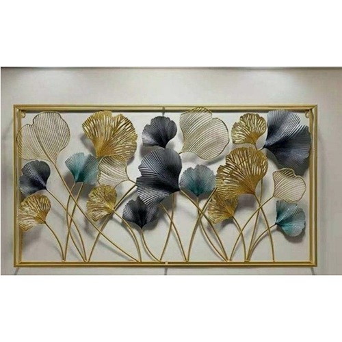 60 INCH Flower Metal Wall Art