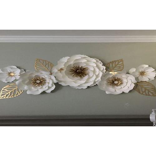 50 INCH Flower Shape Metal Wall Art