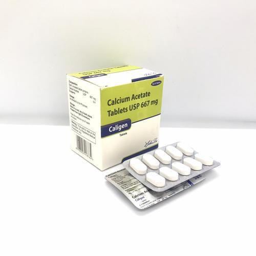 Calcium Acetate IP 667 MG.