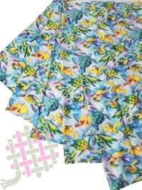 Beautiful Mini Micro Silk Digital Print Fabric For Women Clothing