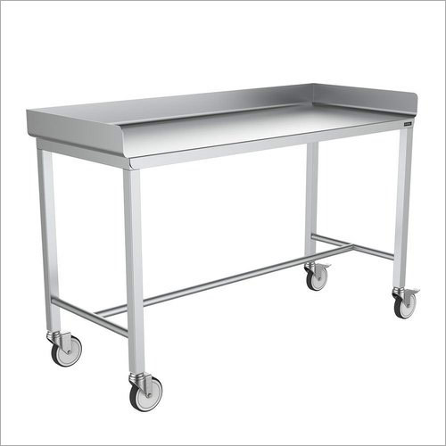 SS Trolley Table