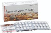 Calcium Carbonate 500 + Vitamin D3 125 IU