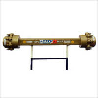125mm Double Seal Trailer Axle