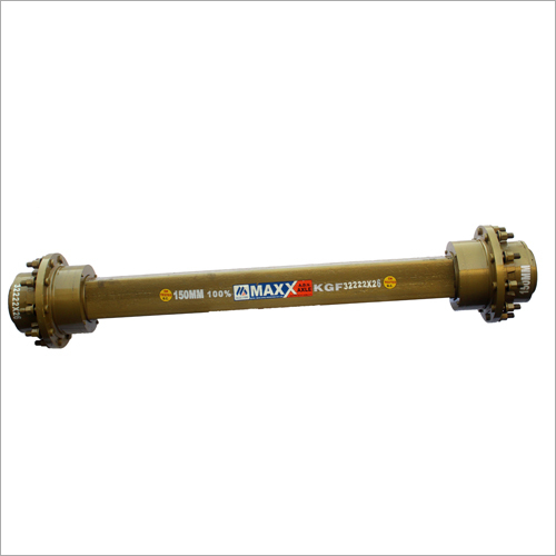150mm Double Seal Trailer Axle