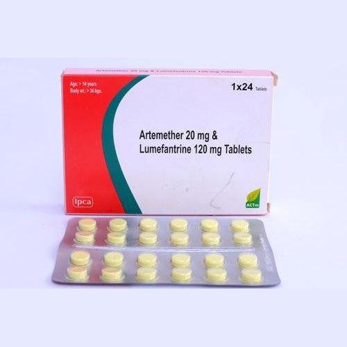 ARTEMETHER 20MG + LUMEFANTRINE 120MG TABLET