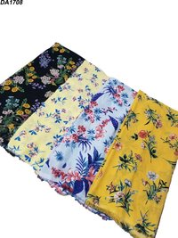 Exclusive Export Georgette (Texxtex 765) Digital Print Fabric (4 Different Designs & Colors)