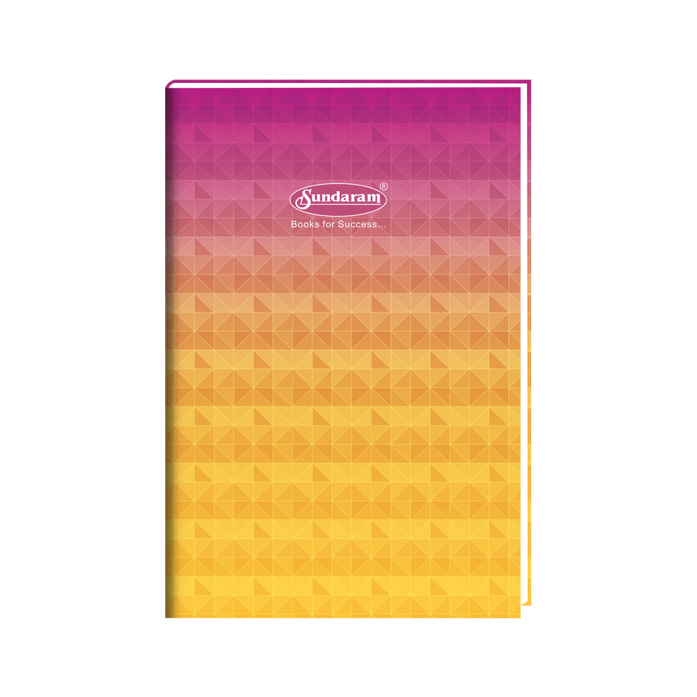 Sundaram Case Bound Big Long Book (2 Quire) - 144 Pages (FW-2)