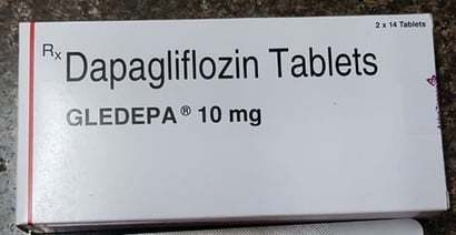 Dapagliflozin Tablets 10 Mg