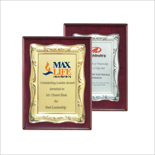 15mm Metal Plate Memento Certificates