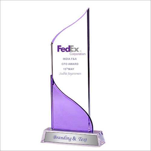 11mm Acrylic Trophy