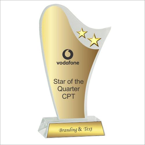 8mm Office Acrylic Trophy