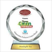 2mm Circular Jewel Acrylic Trophy