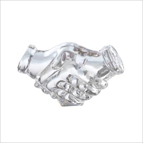 T 100 Trophy Handshake