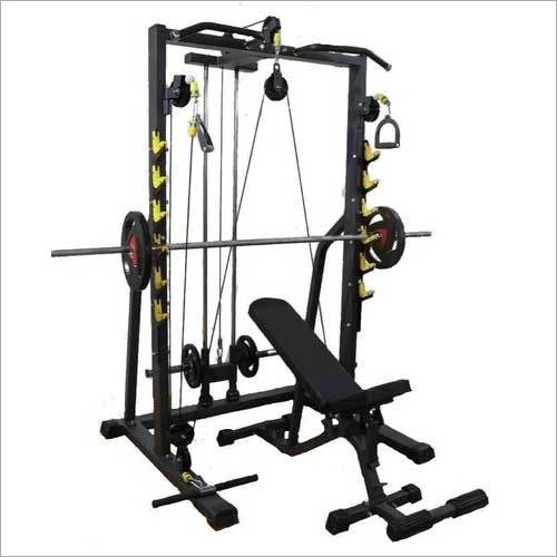 3-Way Press Bench With Plate Holders