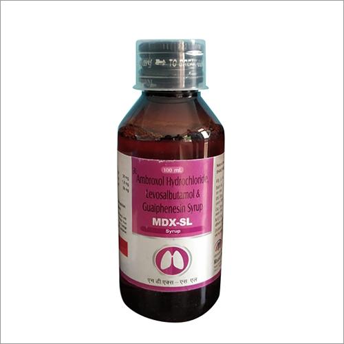 Ambroxol Hydrochloride Levosalbutamol And Guiphenesin Syrup