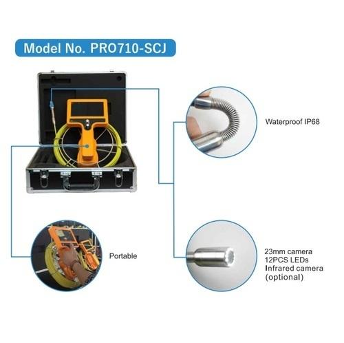 Drain & Pipe Inspection Camera