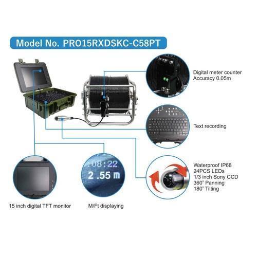 Bore & Deep Well Inspection Camera